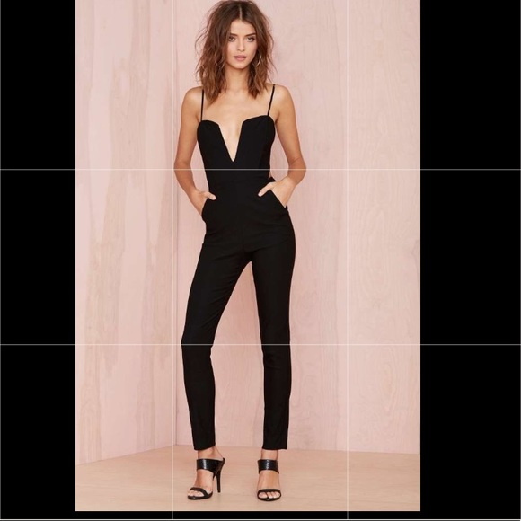 9d6ce75121f Nasty Gal Black Jumpsuit New with Tag